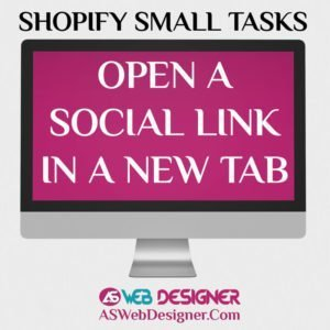 Shopify Expert Shopify Small Tasks AS Web Designer Shopify Design Agency Shopify Web Design Experts Shopify Design Services Open Social Links In New Tab