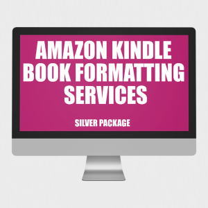 Silver Kindle Book Formatting Services | 100K-120K Words